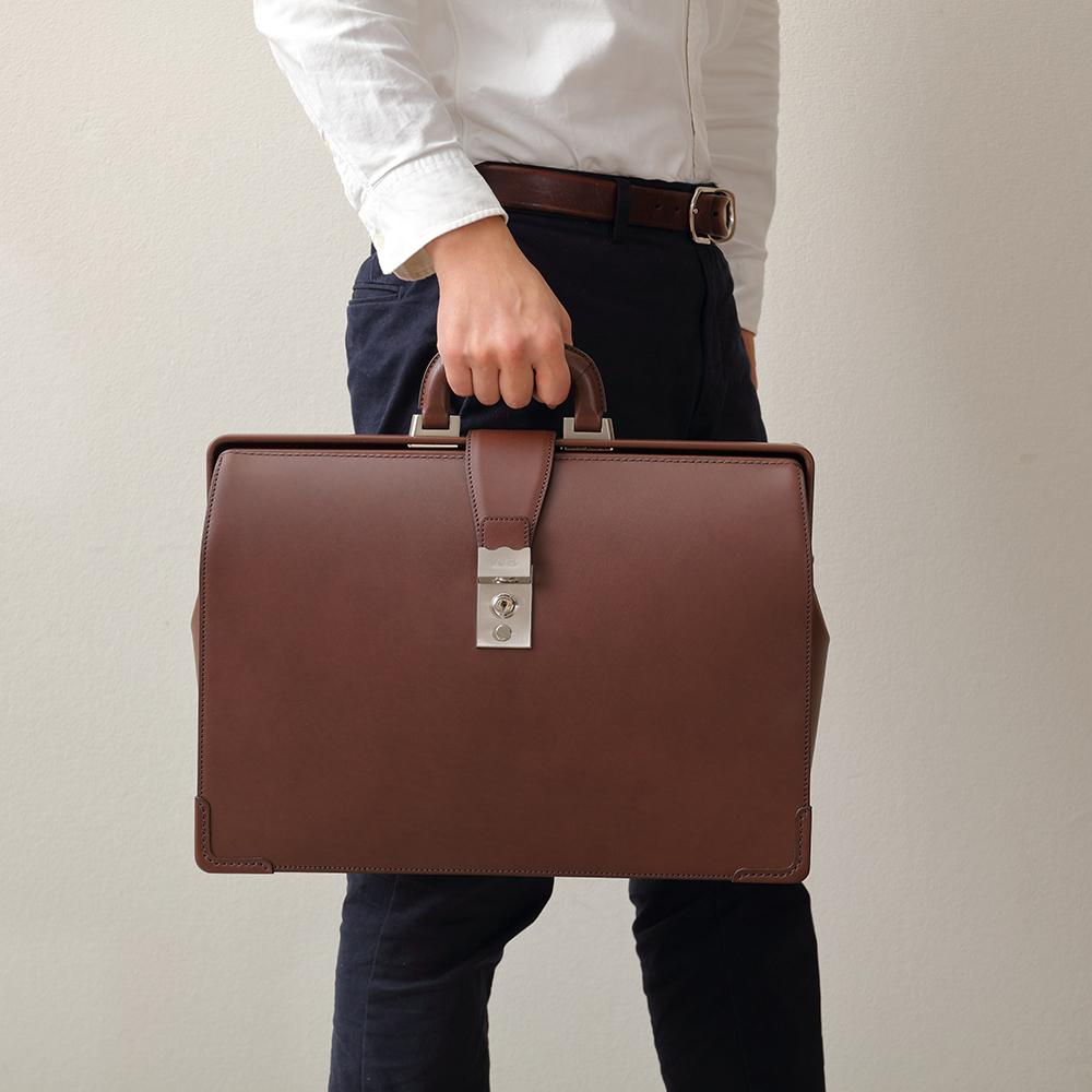 デキる男のメンズビジネスバッグ SOMÈS SADDLE エグゼクティブ ダレスバッグ